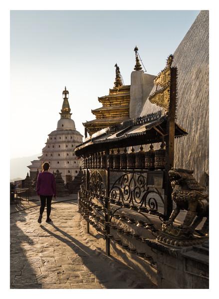 22 Swayambhunath Stupa - Nepal - Novembe