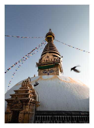 19 Swayambhunath Stupa - Nepal - Casper Farrell photography