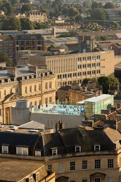 50 Thermae Bath Spa Rooftop Pool, Bath, UK