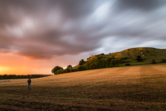 Cley Hill Sunset, Wiltshire UK