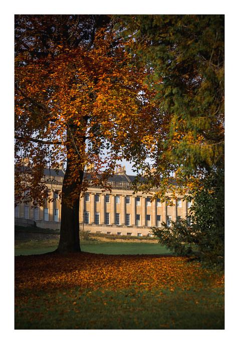 Royal Crescent Autumn - Bath - October 2