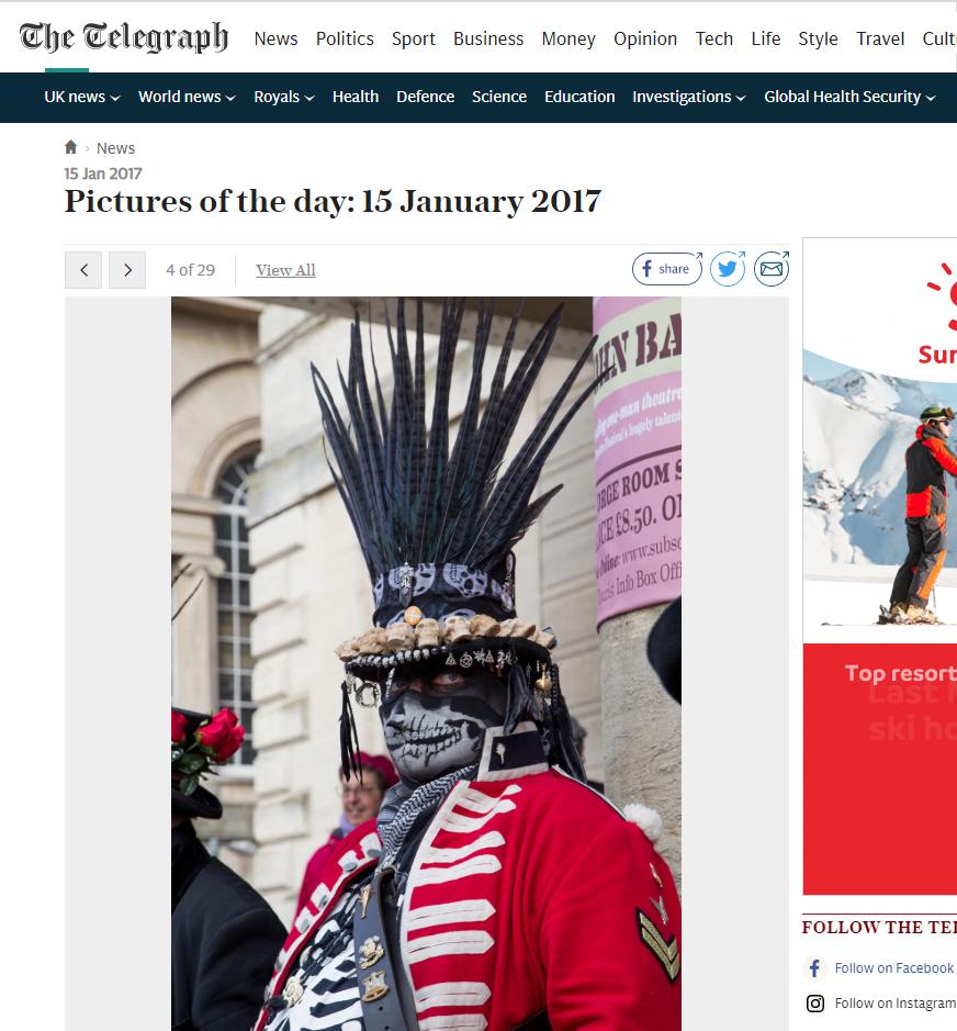 The Telegraph - Stroud Wassail