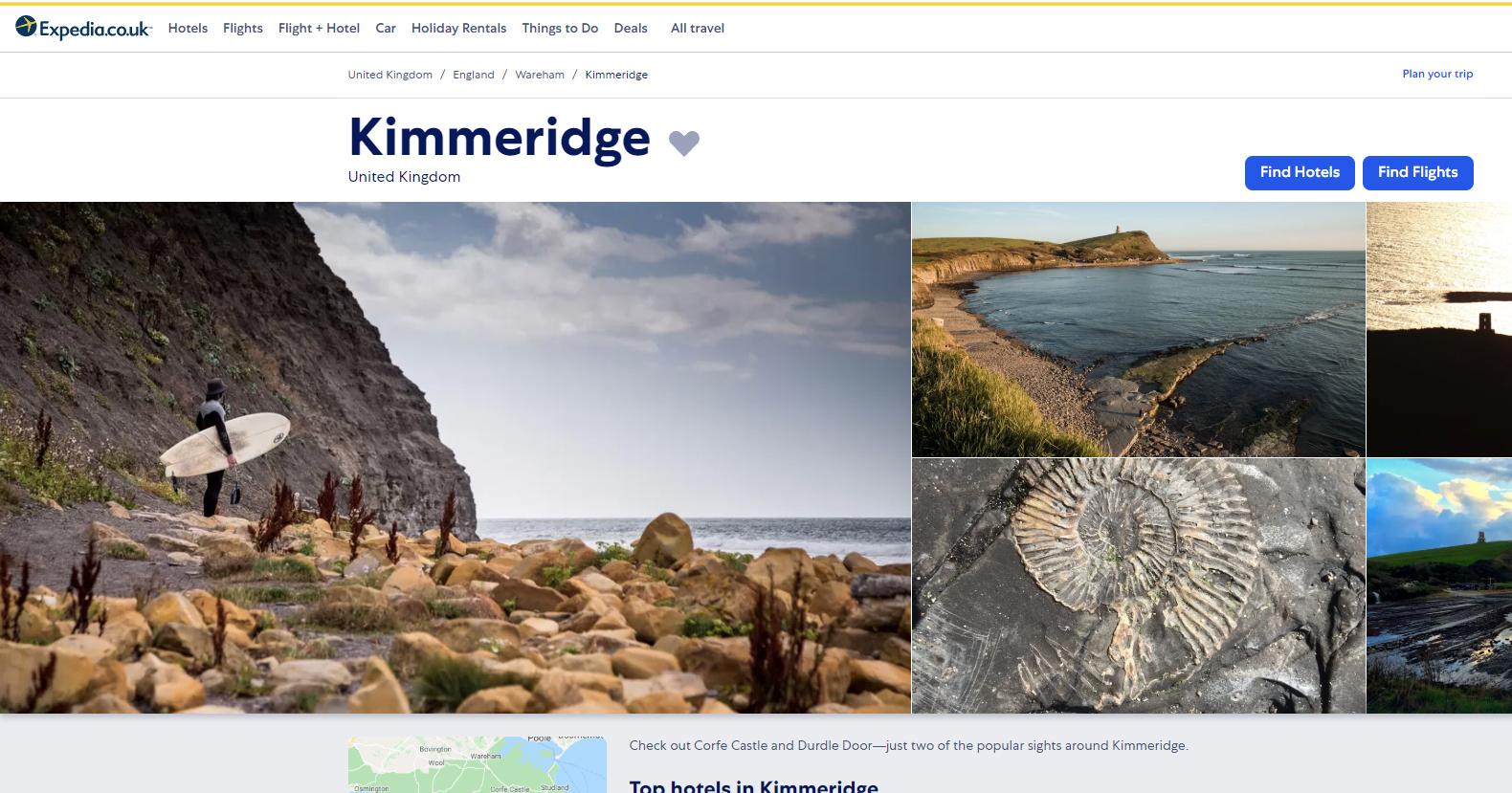 Expedia - Best of Kimmeridge Dorset