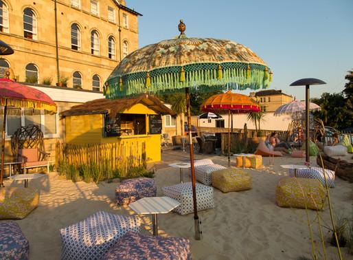 The Bird Bath Hotel's First Beach Bar - Hello Summer!