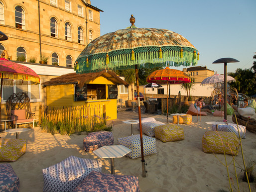 The Bird Bath Hotel's First Beach Bar - Hello Summer!