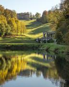 13 Prior Park Landscape Garden in Autumn, Bath, UK