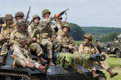 Crisbeq Re-enactment - NormandyFrance -