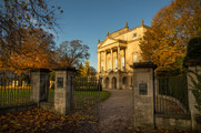 17 The Holburne Museum in Autumn, Bath, UK