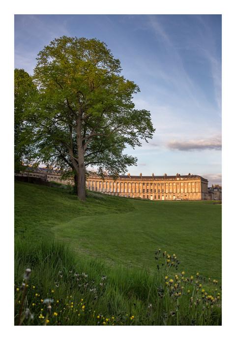 The Royal Crescent - Bath - May 2019 -