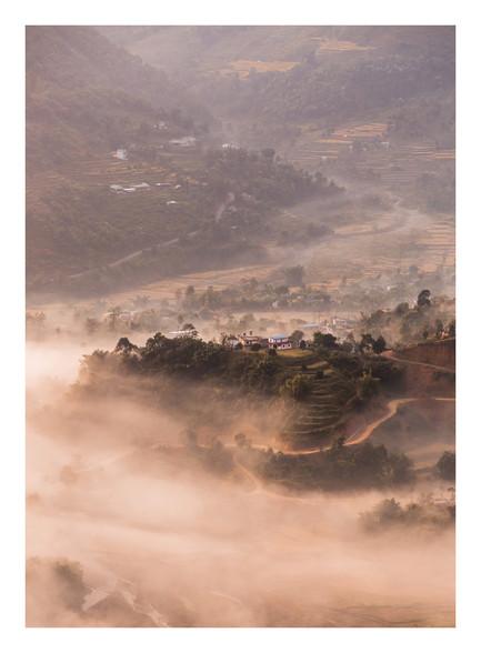 Peace Pagoda - Nepal - November 2018 - C