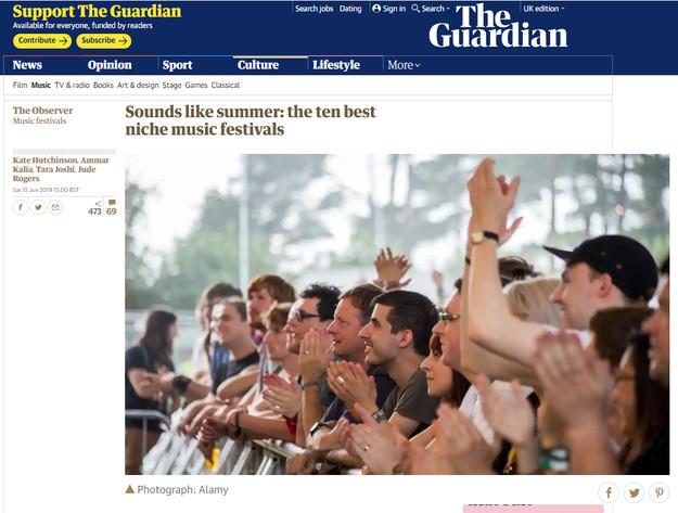 The Guardian - Best Alternative Summer M