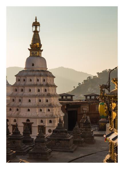 21 Swayambhunath Stupa - Nepal - Novembe