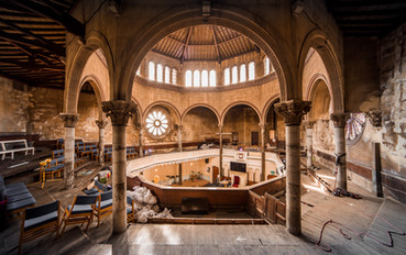 18 Elam Church Interior, Bath, UK