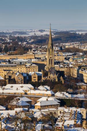 Snow City View Bathwick Meadow - Bath (2