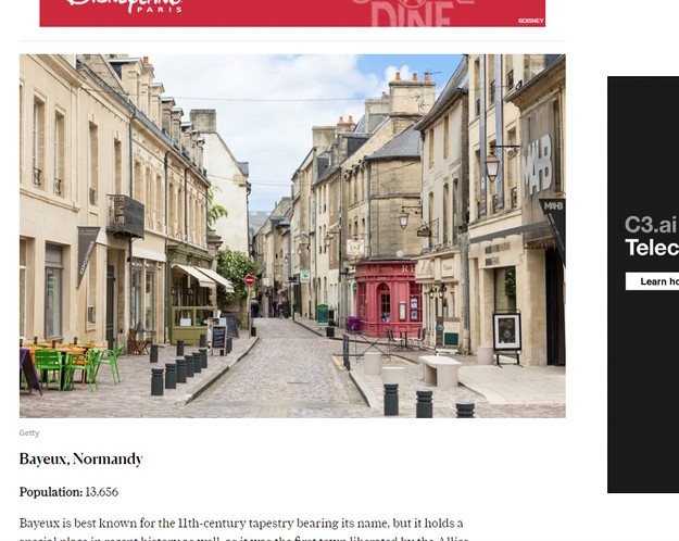 Conde Nast - 10 Most Beautiful Towns in