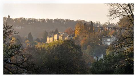 Hazy View to Widcombe - Bath - November