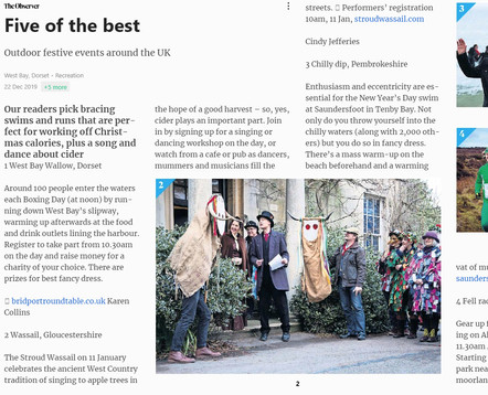 The Observer - Five of the Best Outdoor