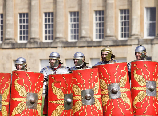The Romans are Coming! - Bath World Heritage Day