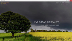 Eve Organics Beauty - Website Design