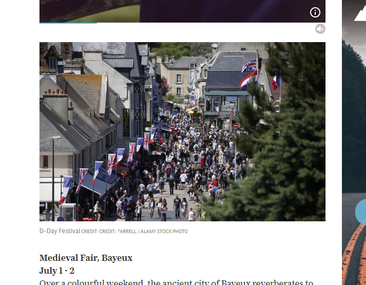 Telegraph Travel - D-Day Events France