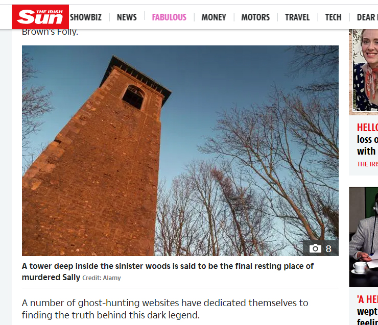 The Sun - Haunted Browns Folly Story
