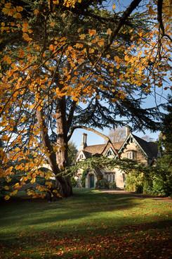47 Royal Victoria Park in Autumn, Bath UK