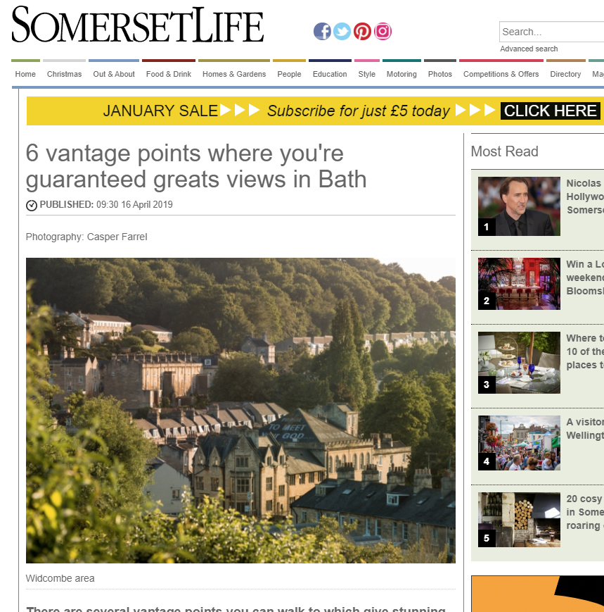 Somerset Life - Web Feature