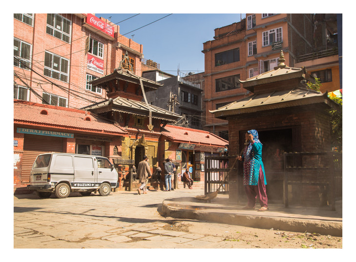 17 Dharmadhaatu Stupa - Nepal - November