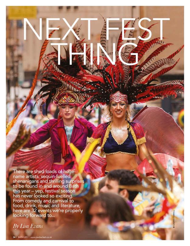 Bath Life Magazine - Bath Carnival Feature