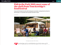 The Times - Pub in the Park Festival