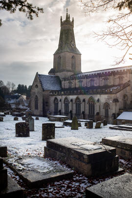 Minchinhampton Holy Trinity Church - Glo