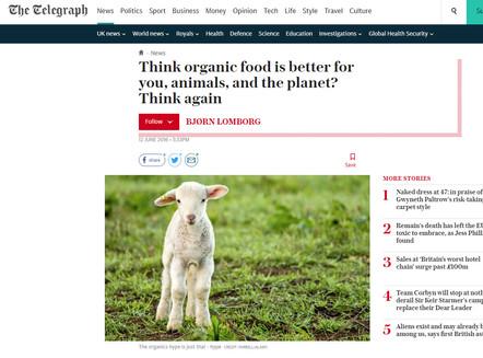 The Telegraph - Organic Food Article.jpg