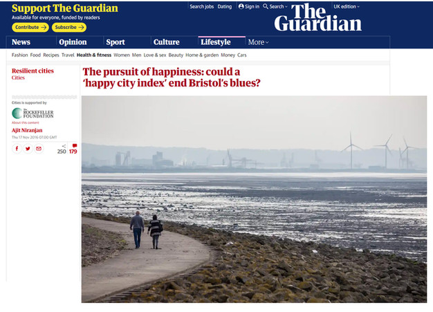The Guardian - The Pursuit of Happiness.