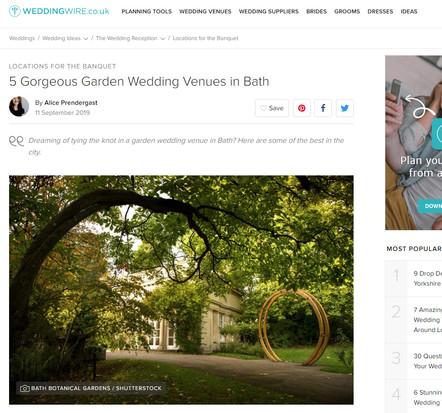 Wedding Wire - 5 Gorgeous Wedding Venues