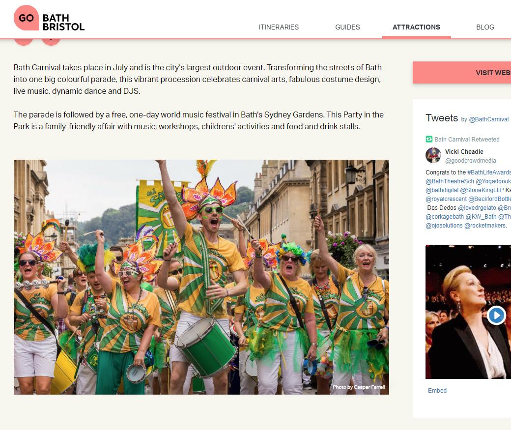 Bath Carnival Photography - Casper Farrell