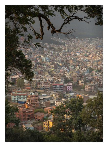 Swayambhunath Stupa - Nepal - November 2