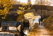 16 Kennet & Avon Canal in Autumn, Bath & Bathampton
