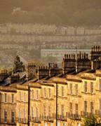 39 Bathwick Hill Townhouses Sunset, Bath, UK