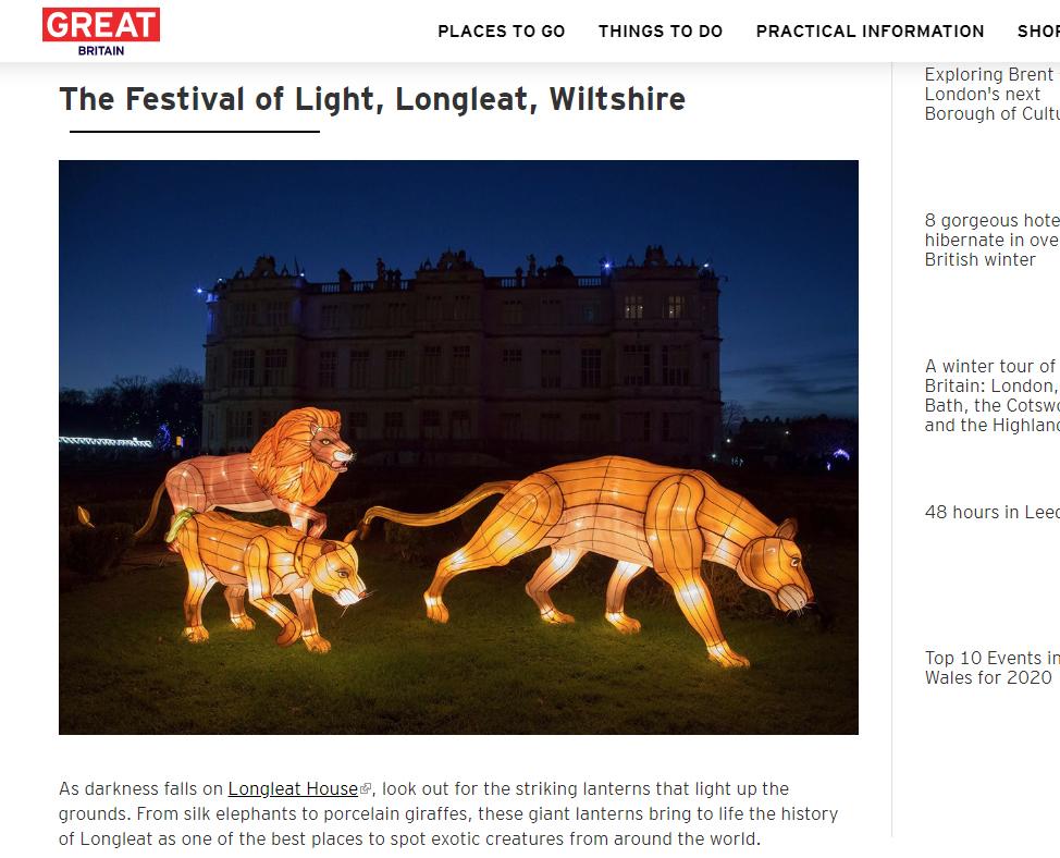 Visit Britain - 3 Amazing Winter Light S