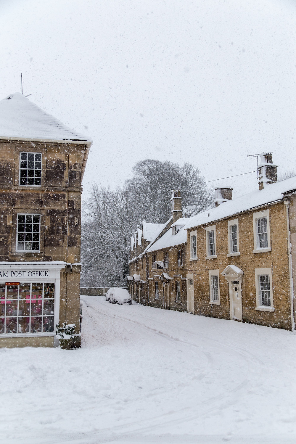 No deliveries today from Corsham Post Office