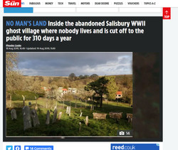 The Sun - Deserted Imber Village Article