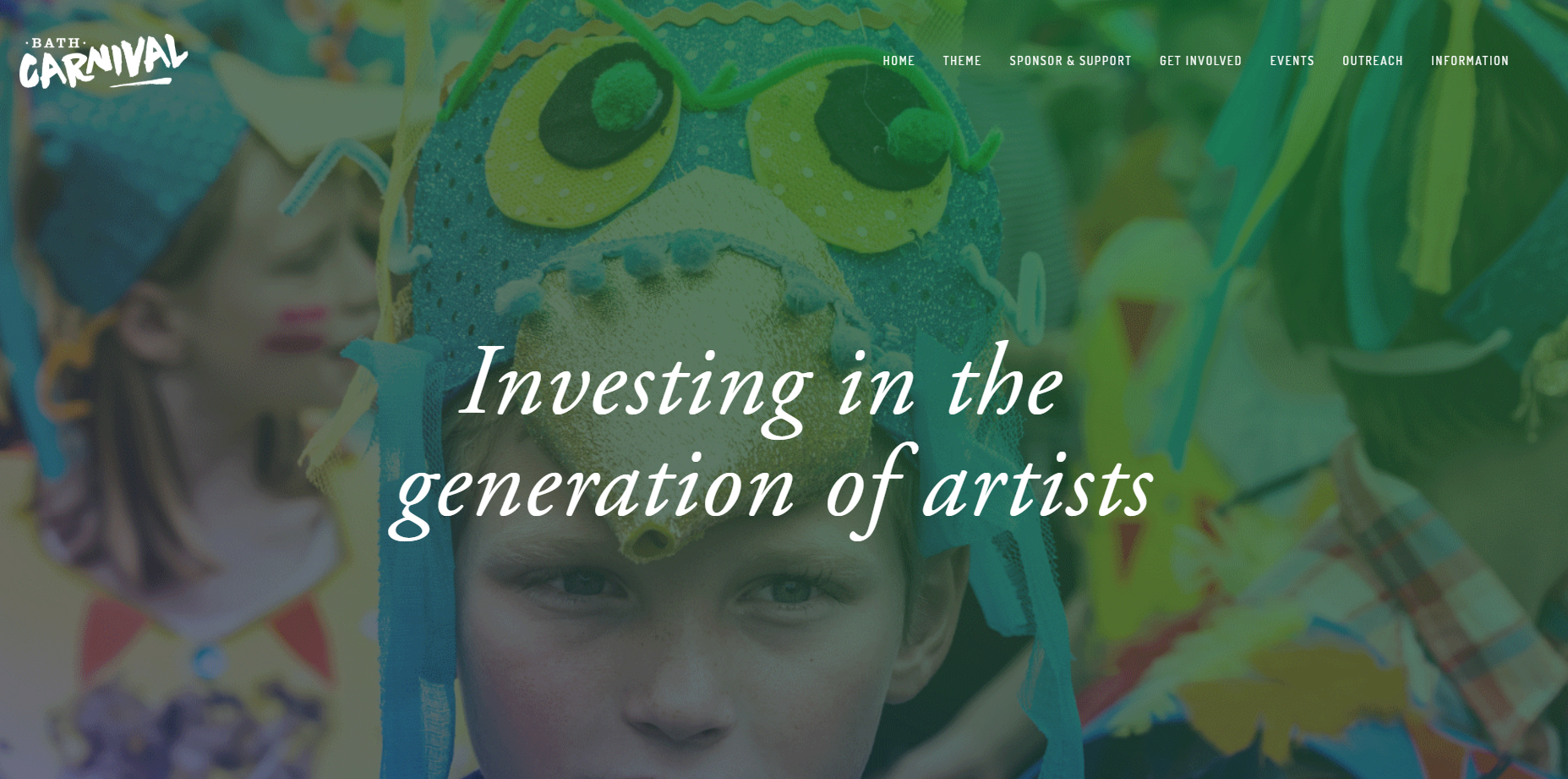 Bath Carnival - Website Design