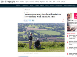 The Telegraph - Health Crisis