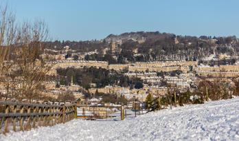 Snow City View Bathwick Meadow - Bath (3
