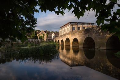 Town Bridge, Bradford on Avon, Wiltshire UK