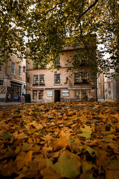 25 Abbey Green in Autumn, Bath, UK