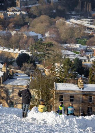 Snow City View Bathwick Meadow - Bath (4