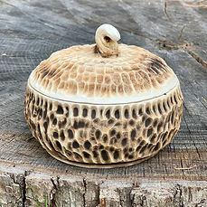 Lidded Jar and Bowl