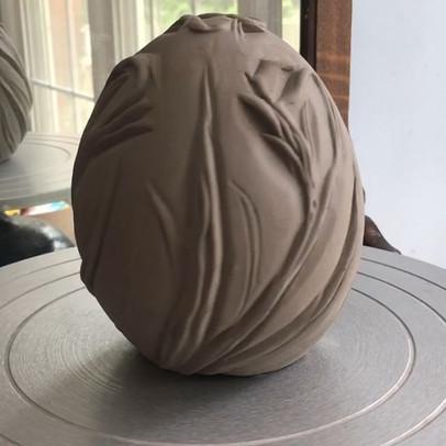 Spring Egg in progress