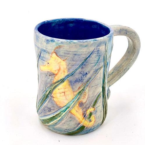 Seahorse Mug 12 oz.